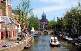 AMSTERDAM CANALES VERANO