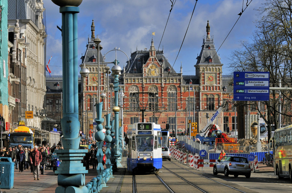 Estación Central de Ámsterdam