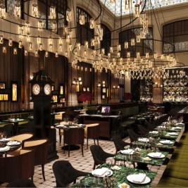 Restaurante del Hotel W de Ámsterdam